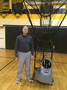 How To Hold Players Accountable With a Basketball Shooting Machine!