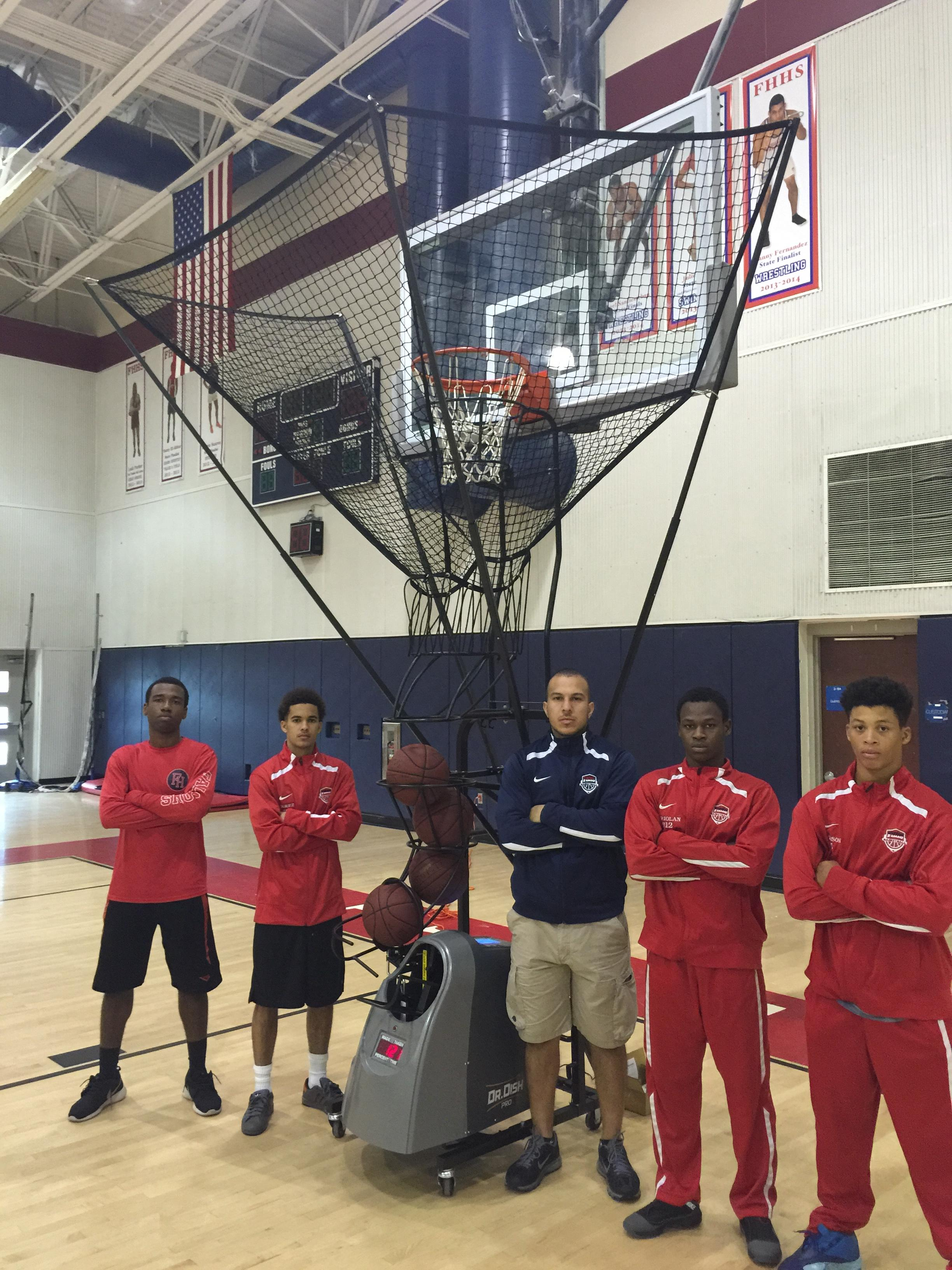 Raising Money for Basketball Training Equipment.. Coach Vera Tells All