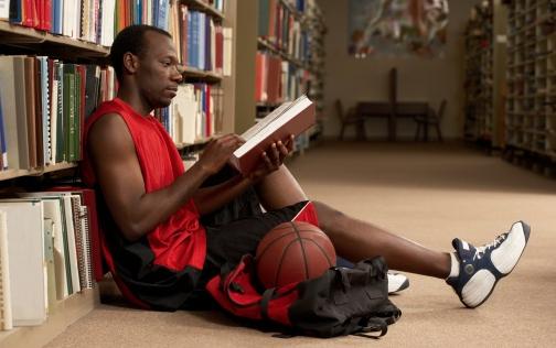 Basketball Player Studying.png