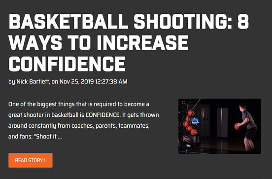 Basketball Shooting - 8 ways to Increase Confidence