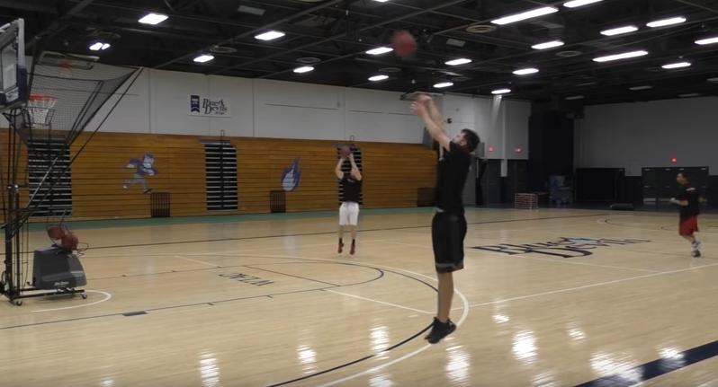Basketball shooting drills - Transition shooting