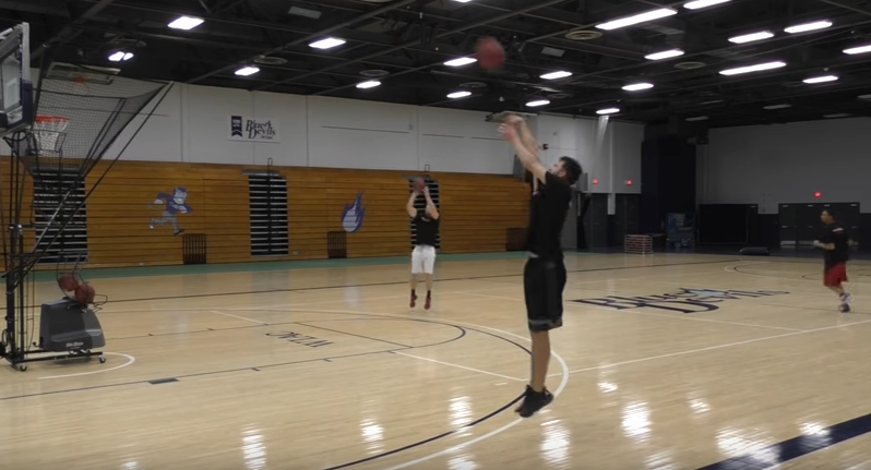 Basketball shooting drills - Transition shooting