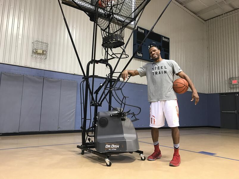 Dorian Lee - Dr. Dish Basketball Shooting Machine