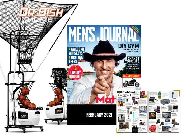 Dr. Dish Home Mens journal