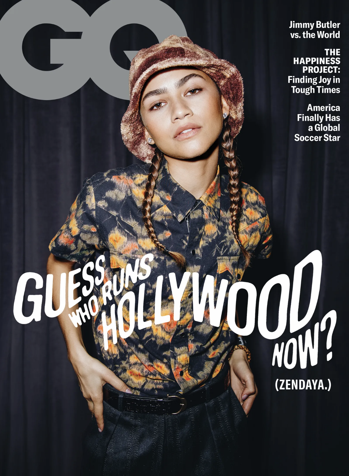 February 2021 GQ issue-png