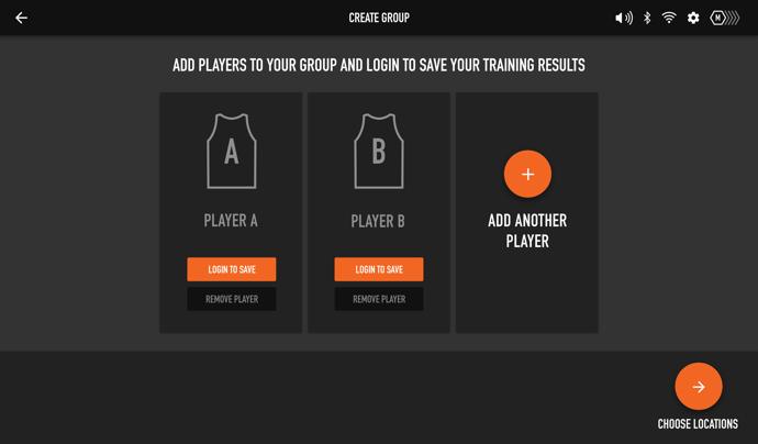 Multi Player - Add Players