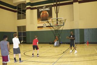 Dr. Dish Basketball Shooting Machine