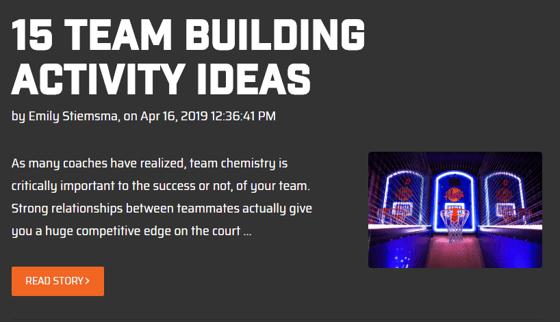 Team Building Activites