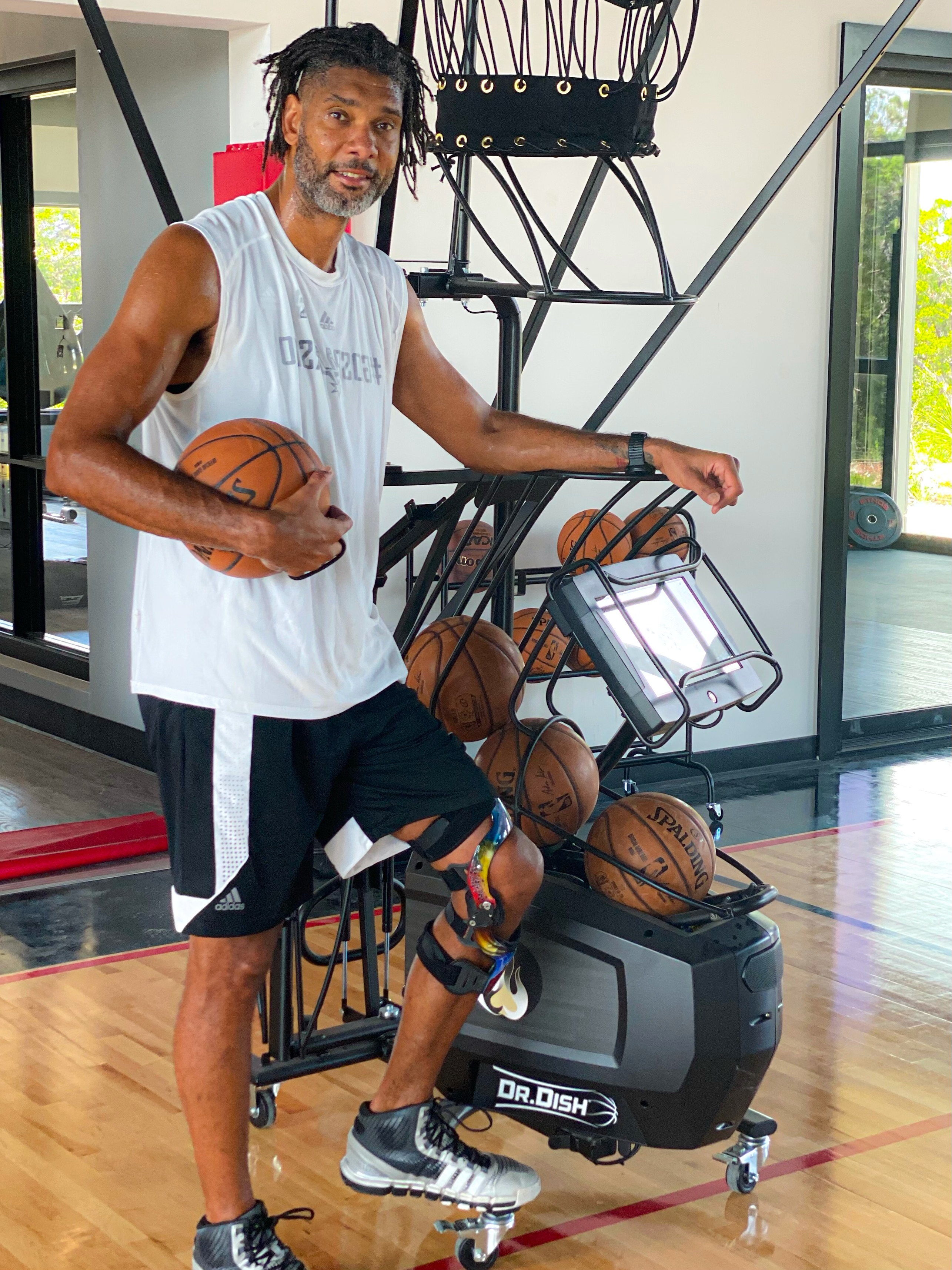 Tim Duncan Former NBA Player and Coach