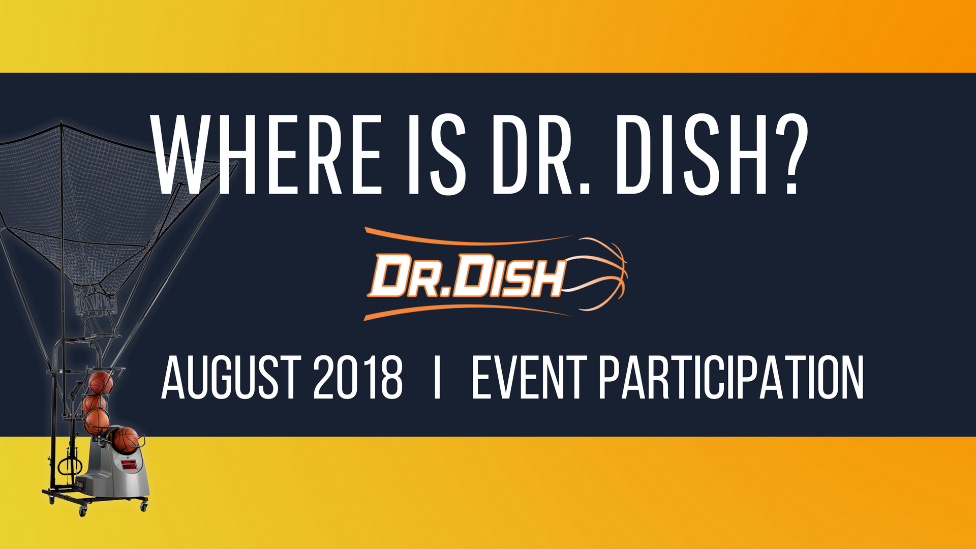 Where is Dr. dish_September 2018event participation