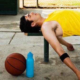 ball handling exhausted