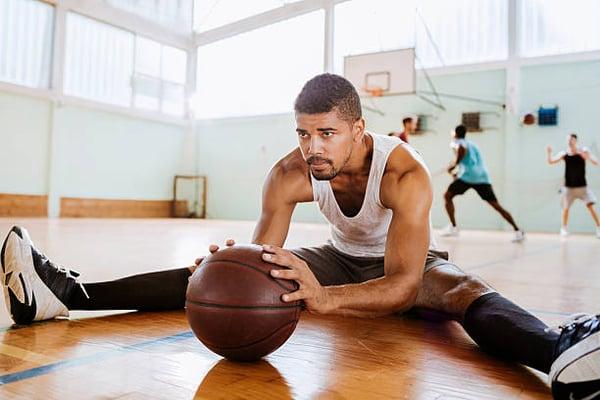 basketball stretching