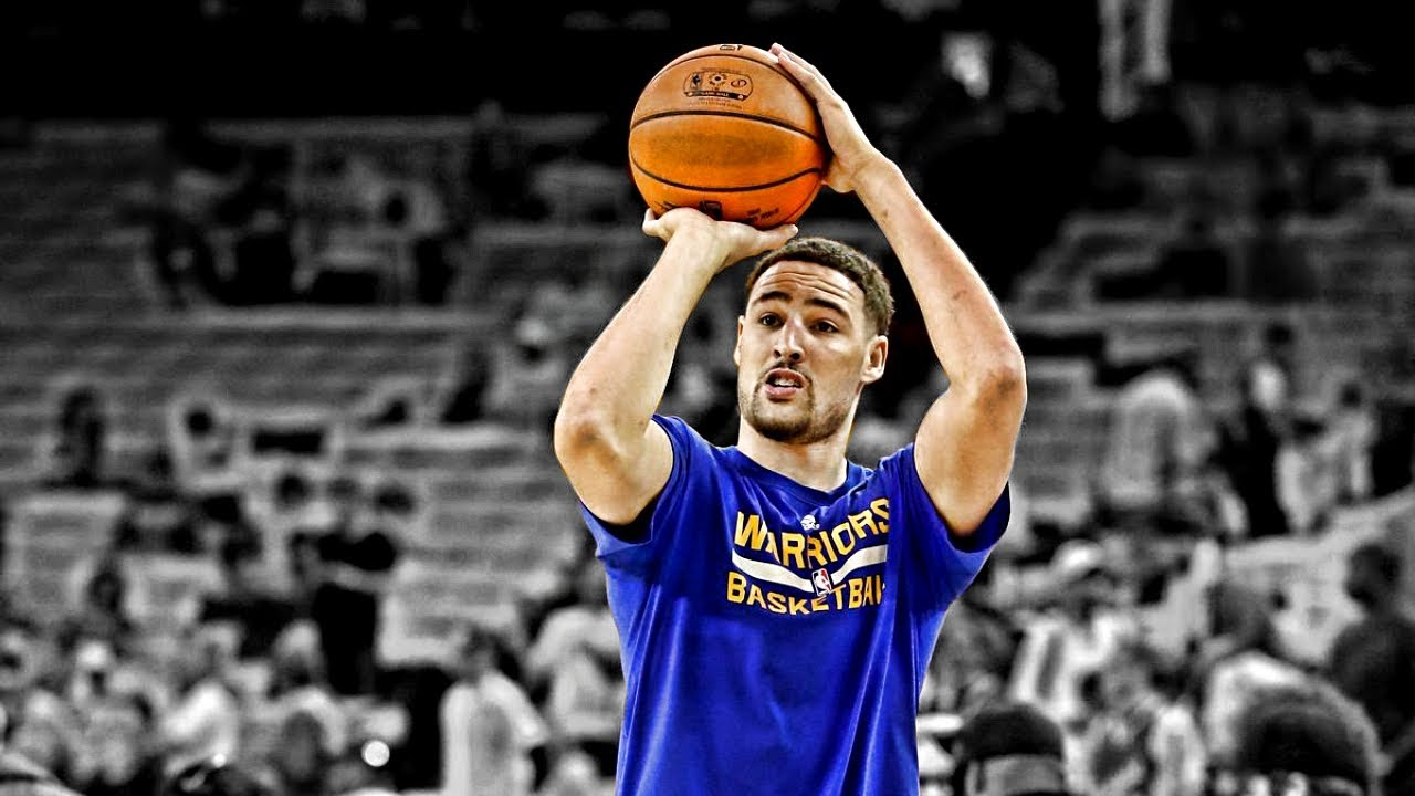 klay thompson shooting