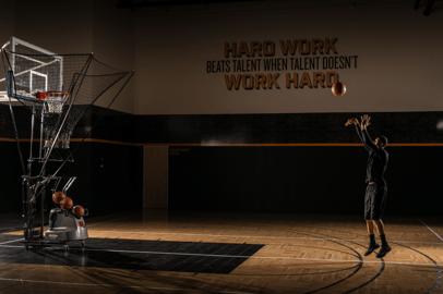 Basketball Shooting Machine - Dr. Dish