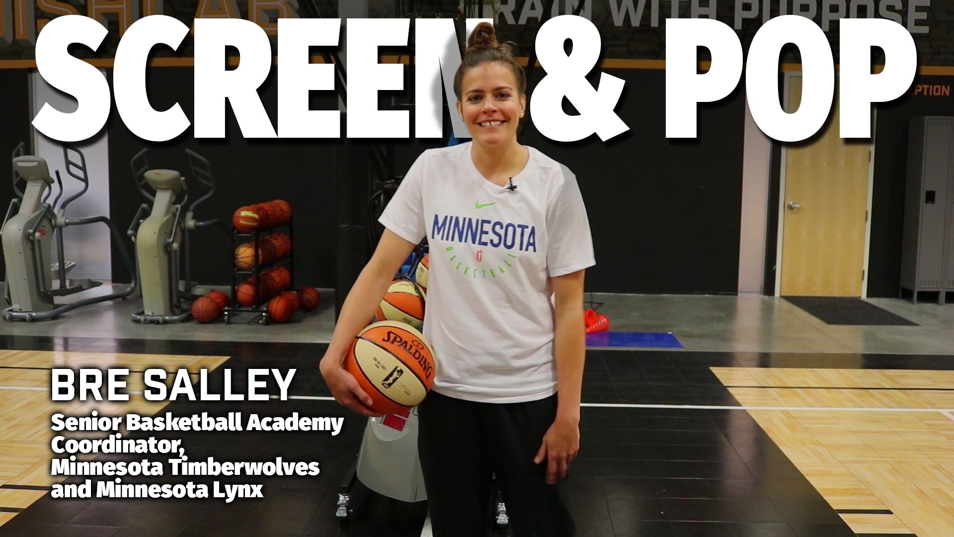 Basketball Drills: Screen and Pop Actions with Bre Salley