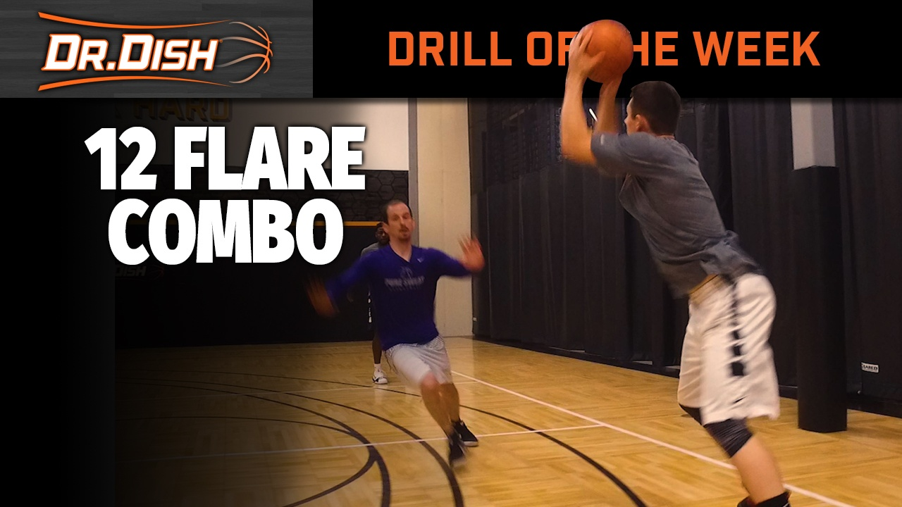 Basketball Drills: 12 Flare Combo with Jordan Delp of Pure Sweat