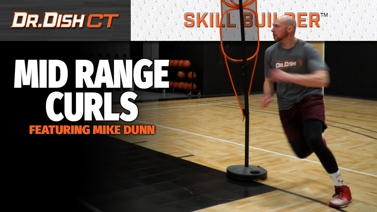 Basketball Shooting Drills: Mid-Range Curl workout with Mike Dunn