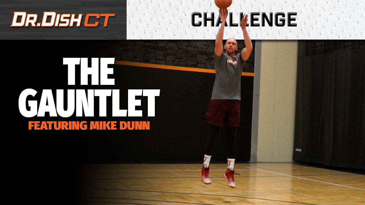 Basketball Shooting Drills: The Gauntlet with Mike Dunn