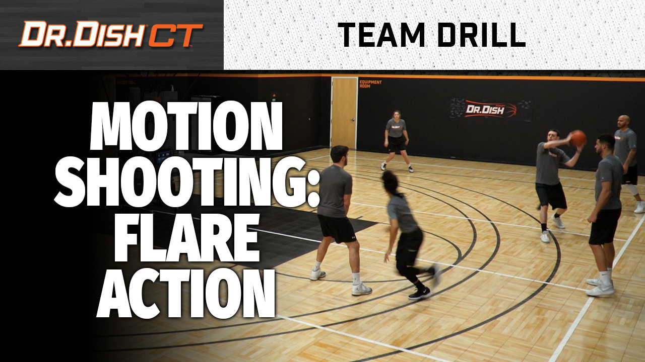 Basketball Team Drills: Flare Shooting