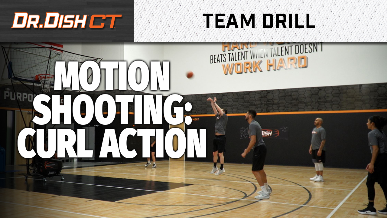 Team Motion Shooting Drills: The Curl Action
