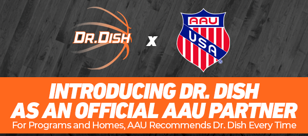 AAU Girls and Boys Basketball Partners with Dr. Dish