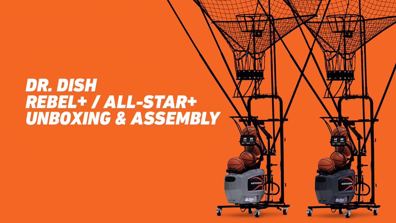 Unboxing and Assembling your New Dr. Dish Rebel+/All-Star+
