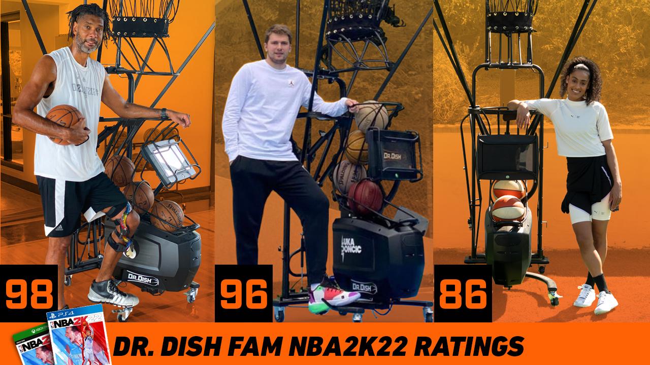 Dr. Dish Fam NBA 2k22 Ratings