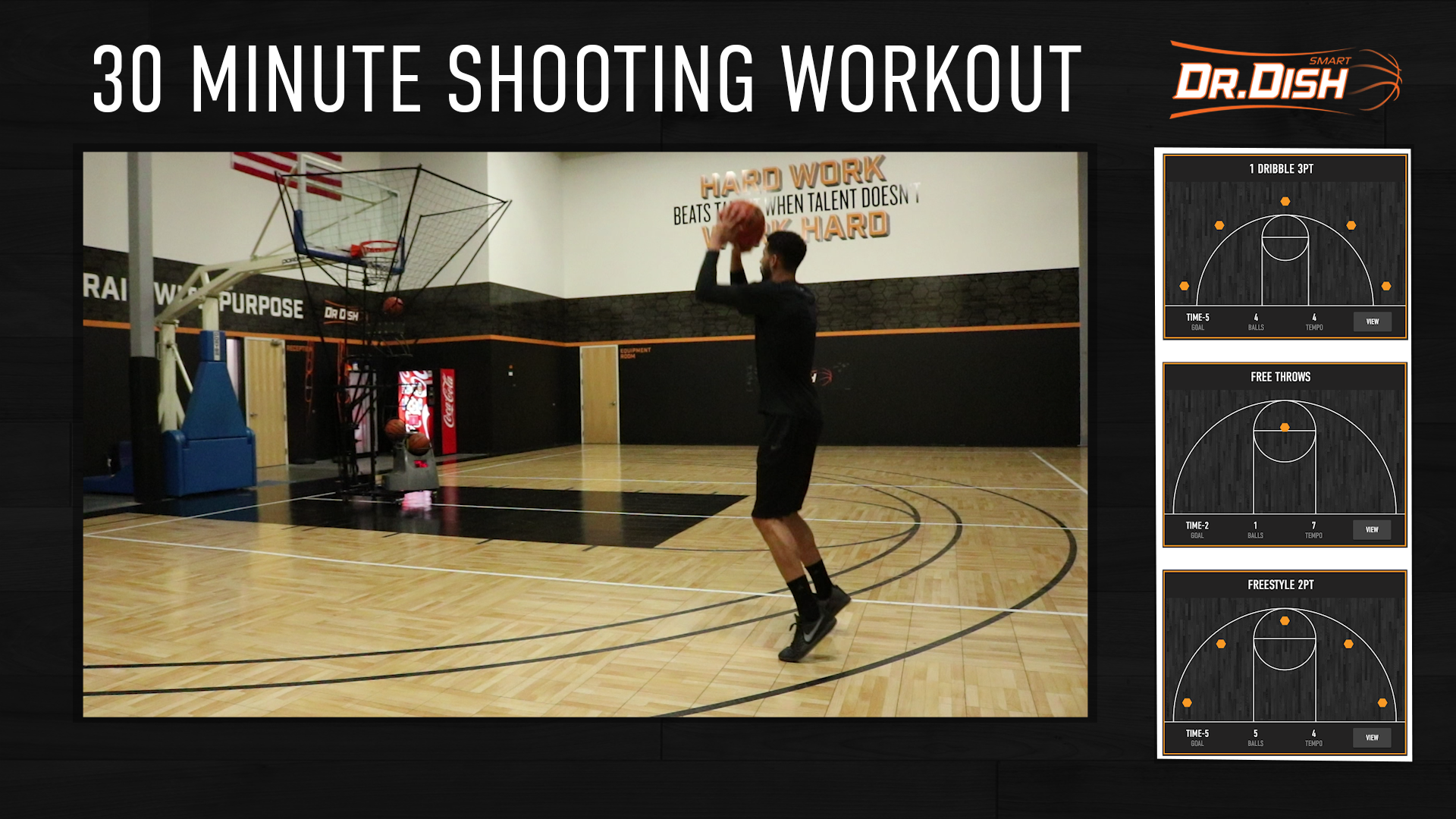 Basketball Shooting Drills: 30 Minute Skill Builder Workout