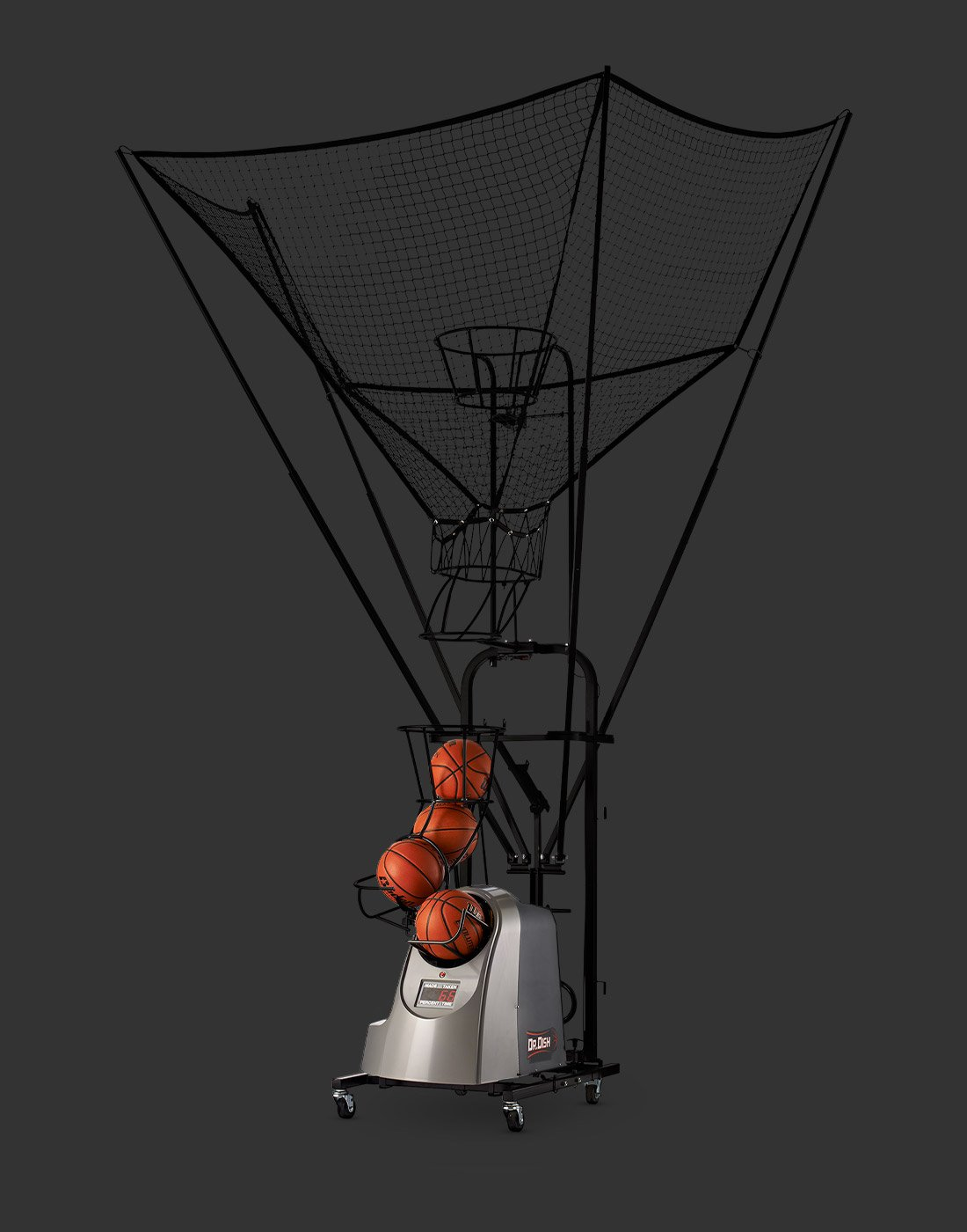 Dr. Dish Rebel Basketball Shooting Machine