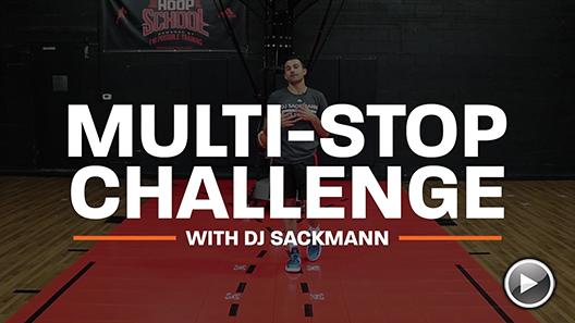 Basketball Drills: Multi Stop Challenge with DJ Sackmann
