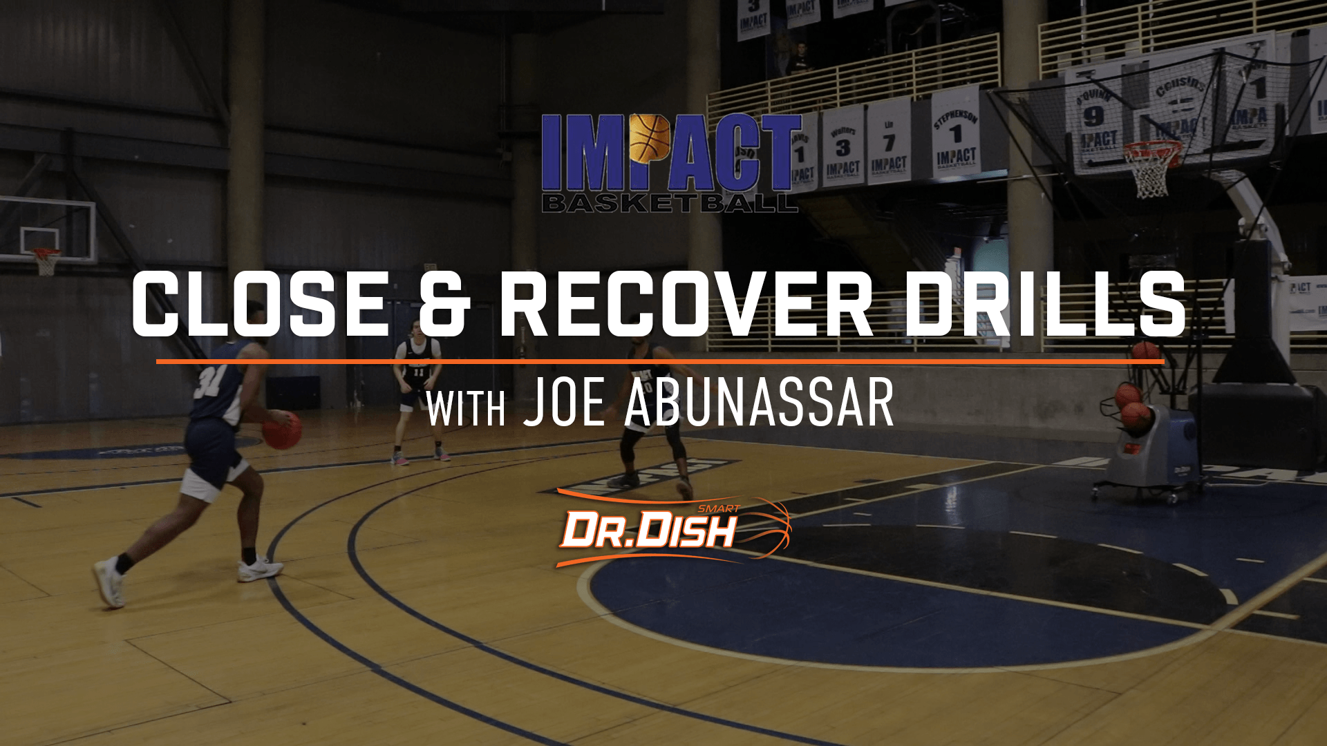 Help and Recover Drill from Joe Abunassar of Impact Basketball