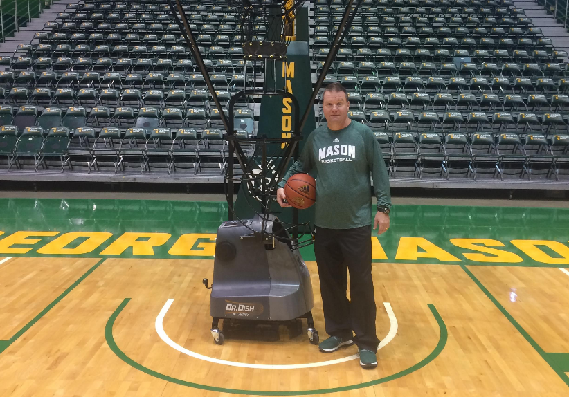 How George Mason is Staying Accountable with Dr. Dish Shooting Machines