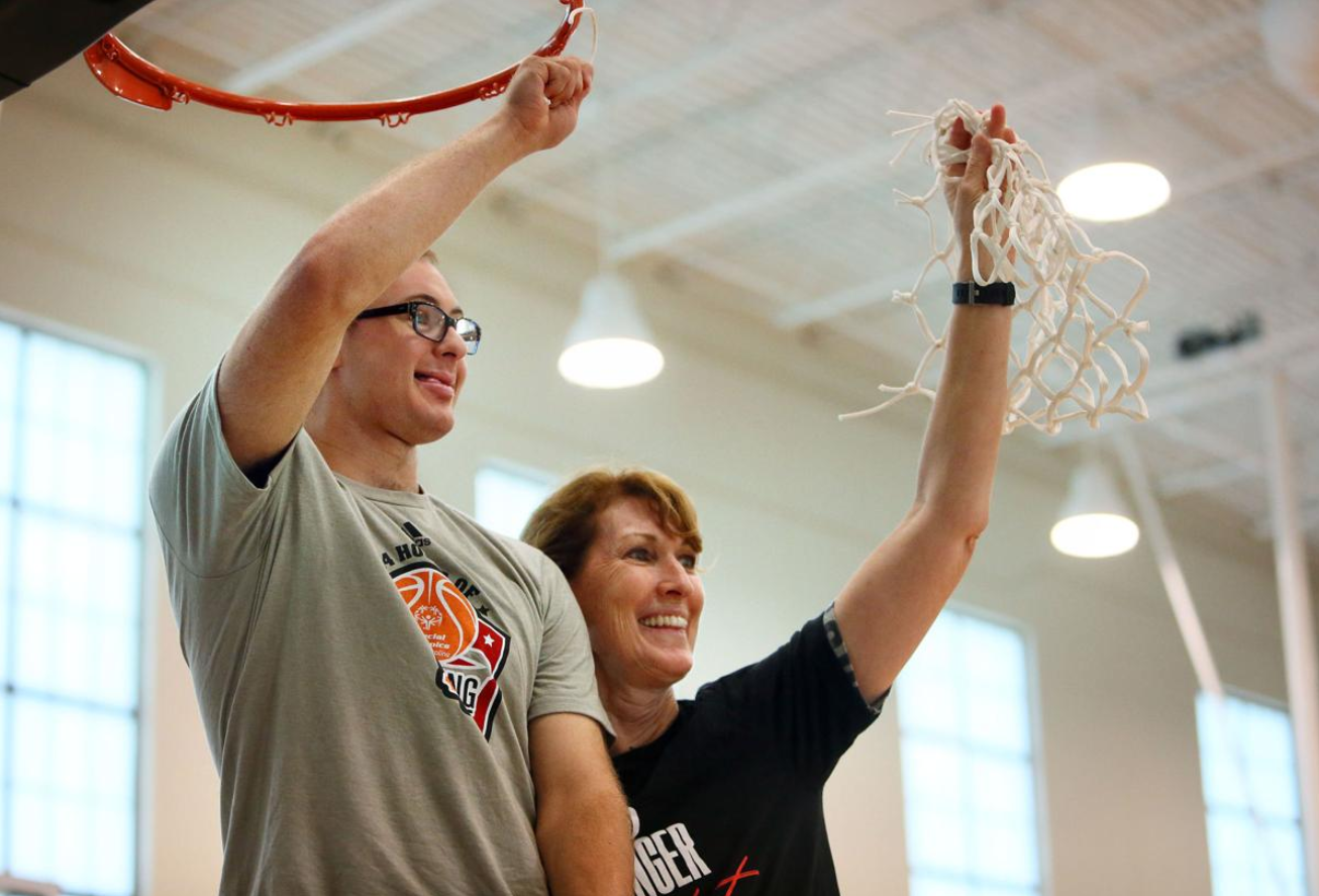 ESPN's Debbie Antonelli Makes 2,400 FT's on Her Dr. Dish - Raises 75k For Special Olympics