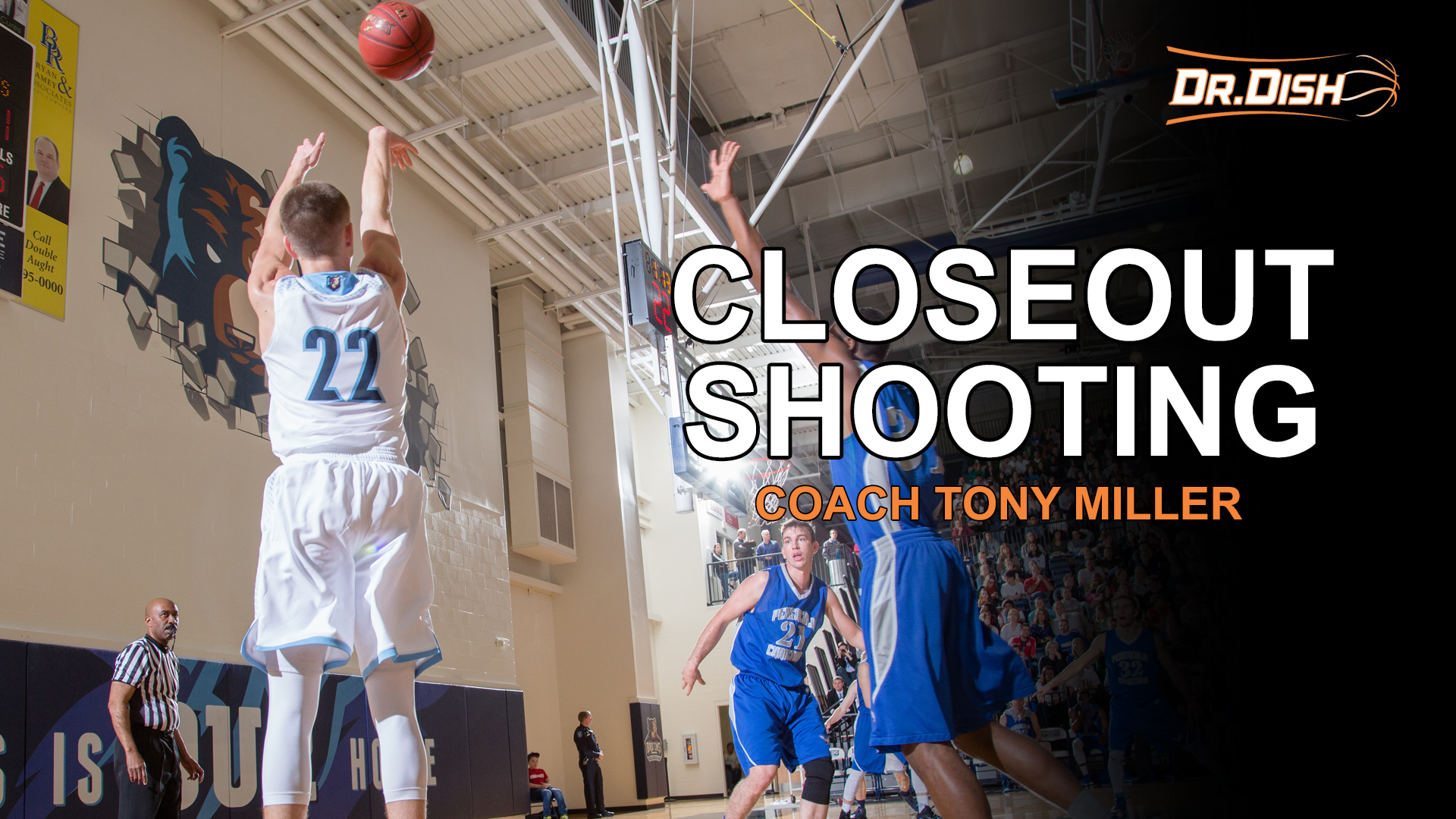 Basketball Drills: Closeout Shooting with Coach Tony Miller