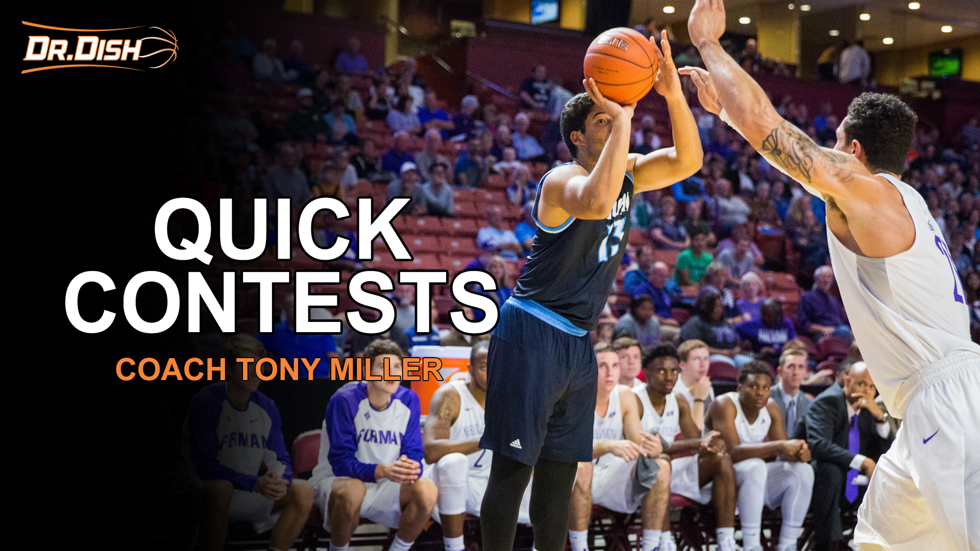 Basketball Drills: Quick Contests with Coach Tony Miller