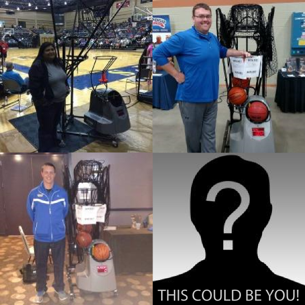 2015 Dr. Dish Basketball Shooting Machine Giveaways