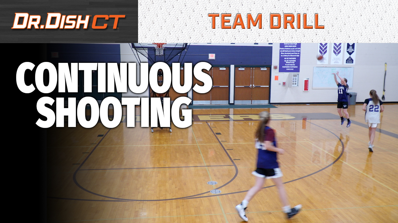 Team Basketball Drills: Continuous Shooting with Positionless Basketball