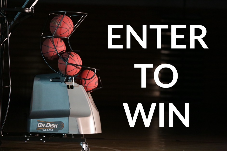 Dr. Dish Basketball Shooting Machine Giveaway: August 10, 2016