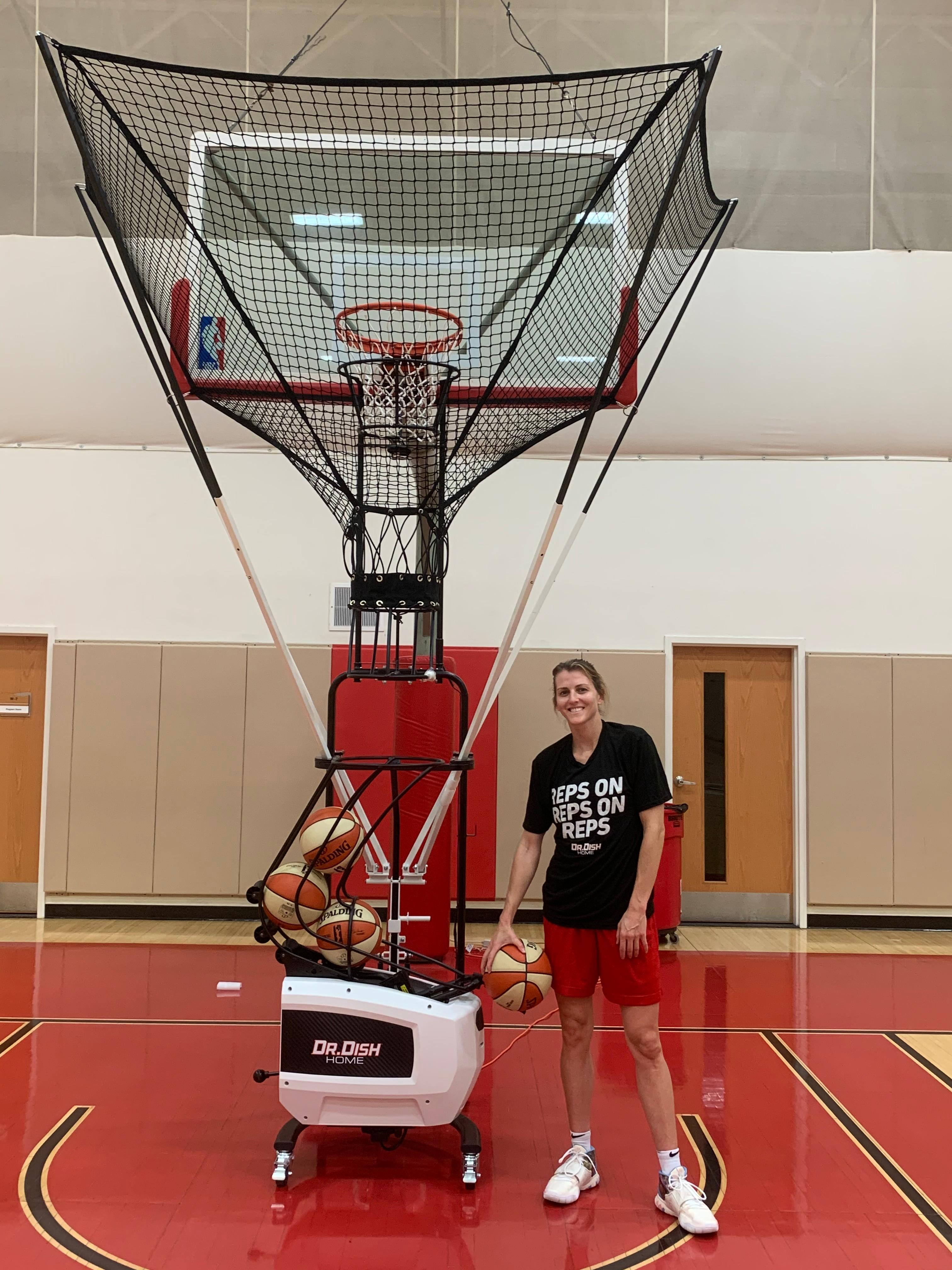 WNBA All-Star Allie Quigley Chooses Dr. Dish