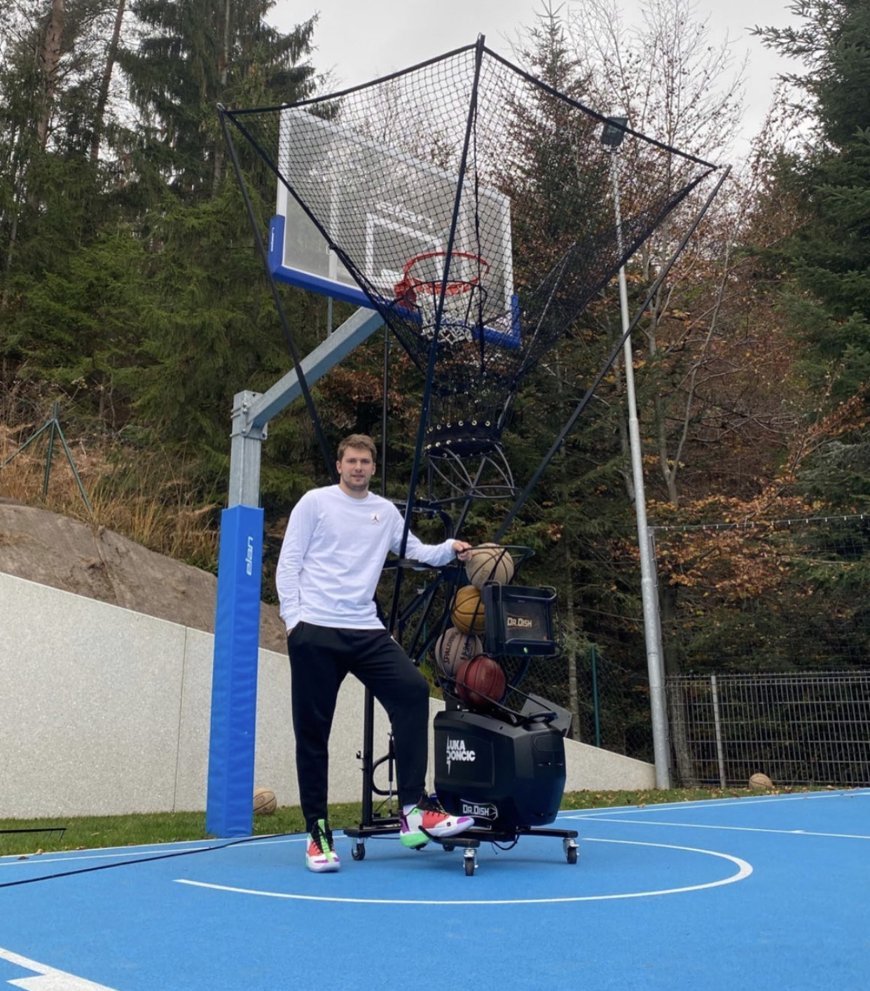 Dr. Dish Welcomes NBA Superstar Luka Doncic to the Family