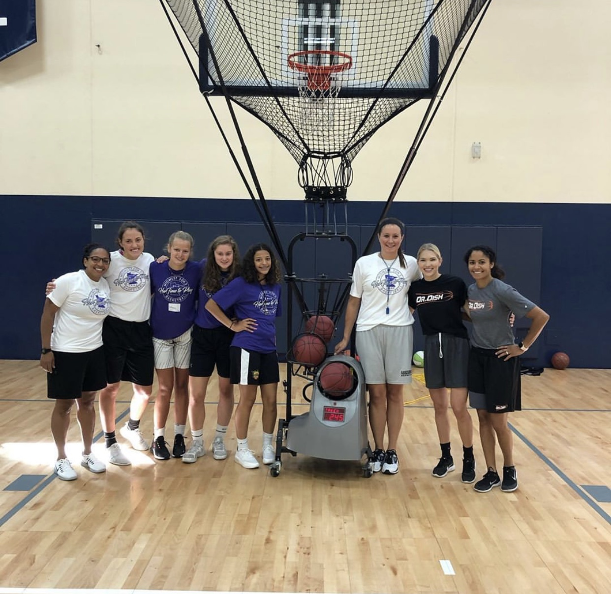 It's Her Time to Play: All Girls Basketball Camp