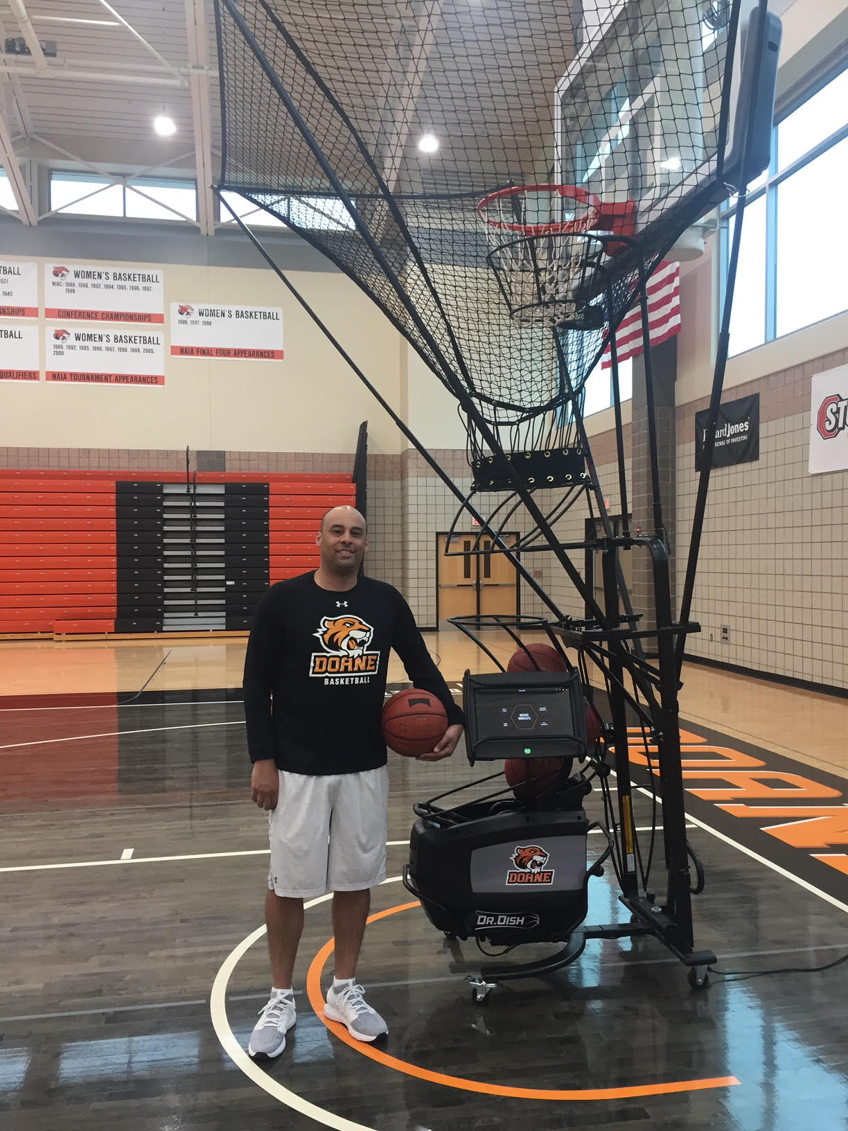 How Doane University Put Up over 34,000 Shots in 4 weeks Using Dr. Dish CT