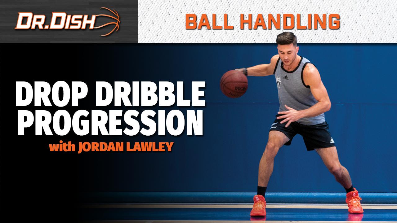 Basketball Drills: Drop Dribble Progression with Jordan Lawley