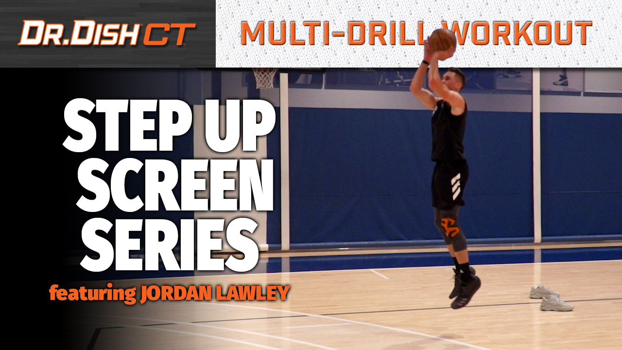 Basketball Drills: Step Up Screen Options with Jordan Lawley