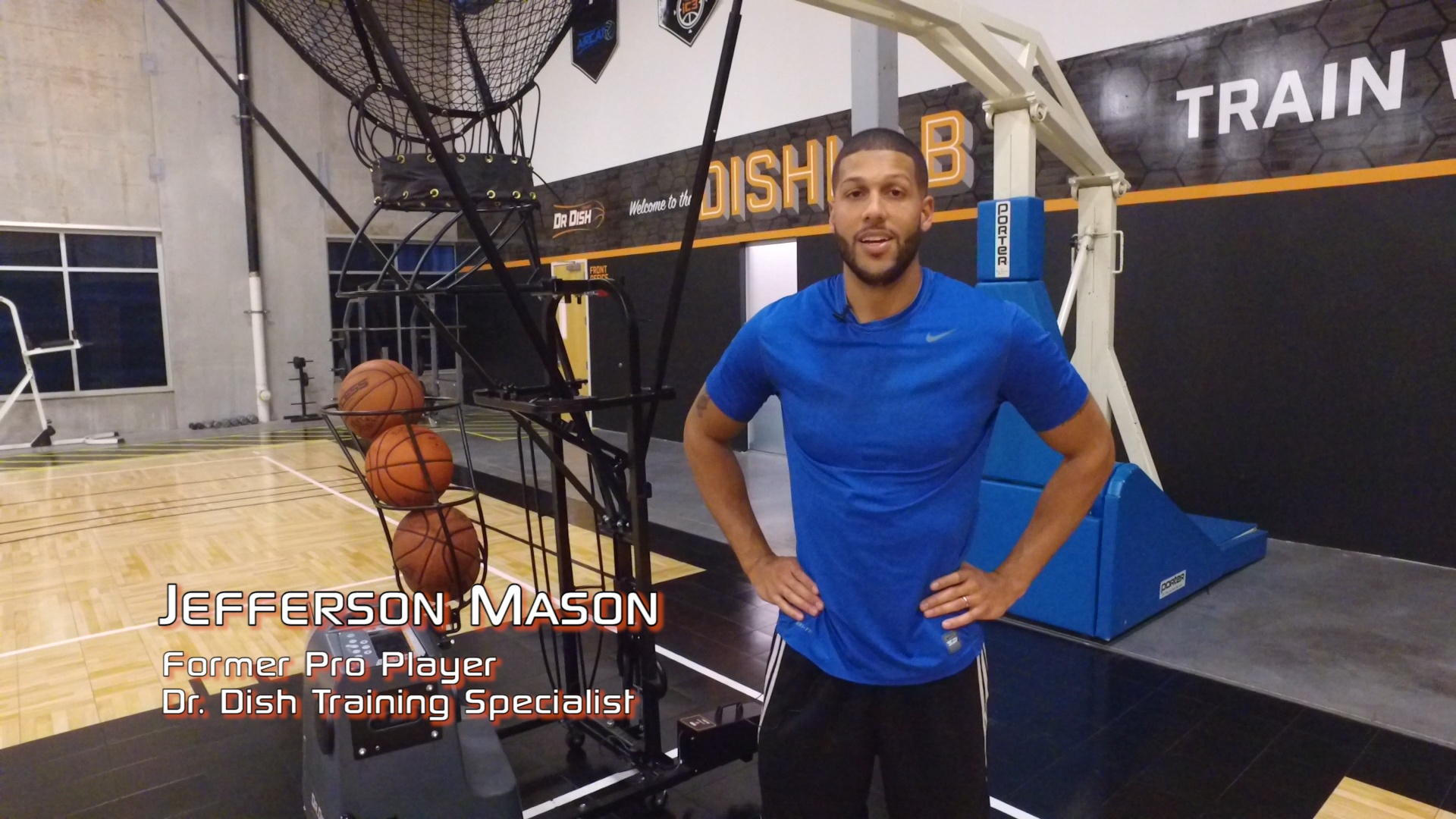 Basketball Drills: Dr. Dish Drill of the Week -  Handling, Finishing & Conditioning