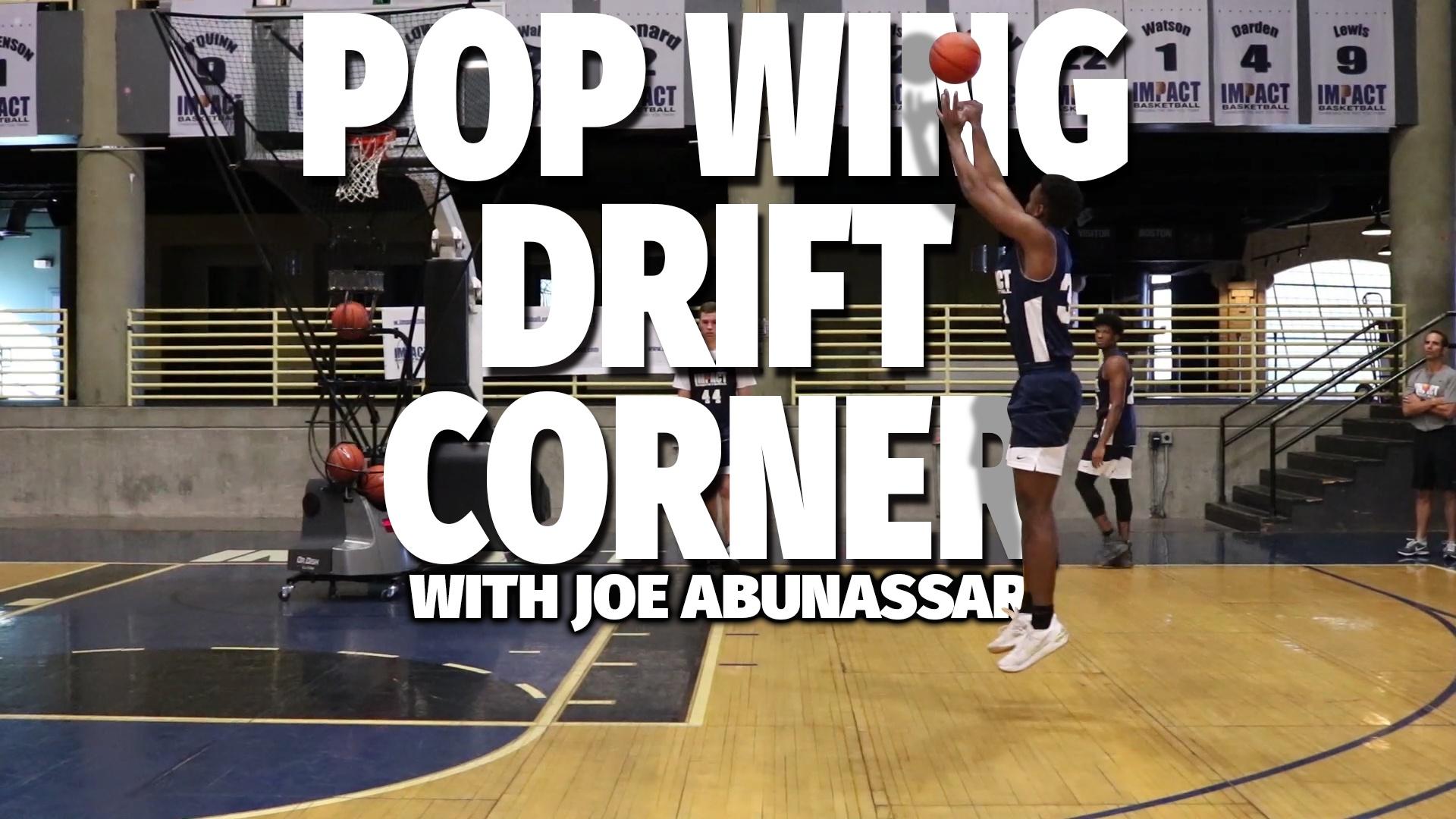 Basketball Drills: Pop Wing Drift Corner Shooting