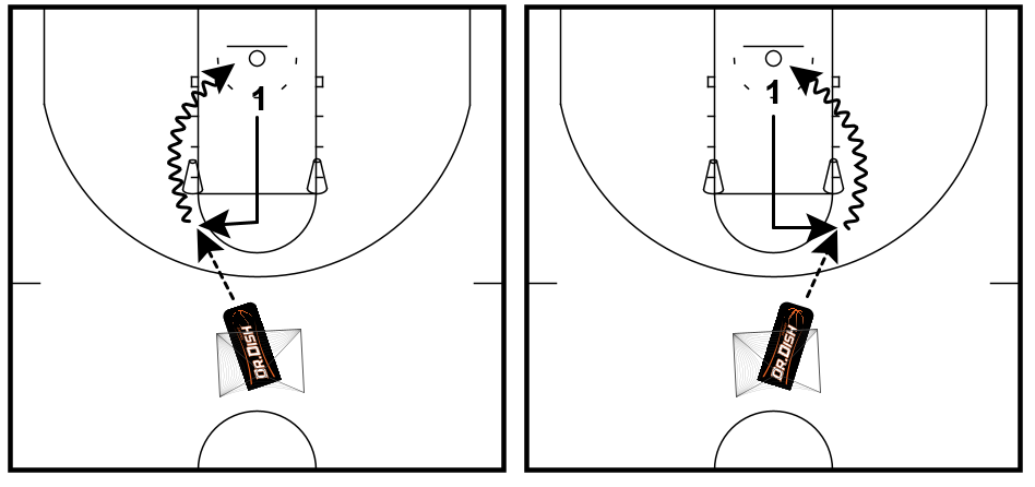 Basketball Shooting Drills: L-Cuts with Coach Tony Miller