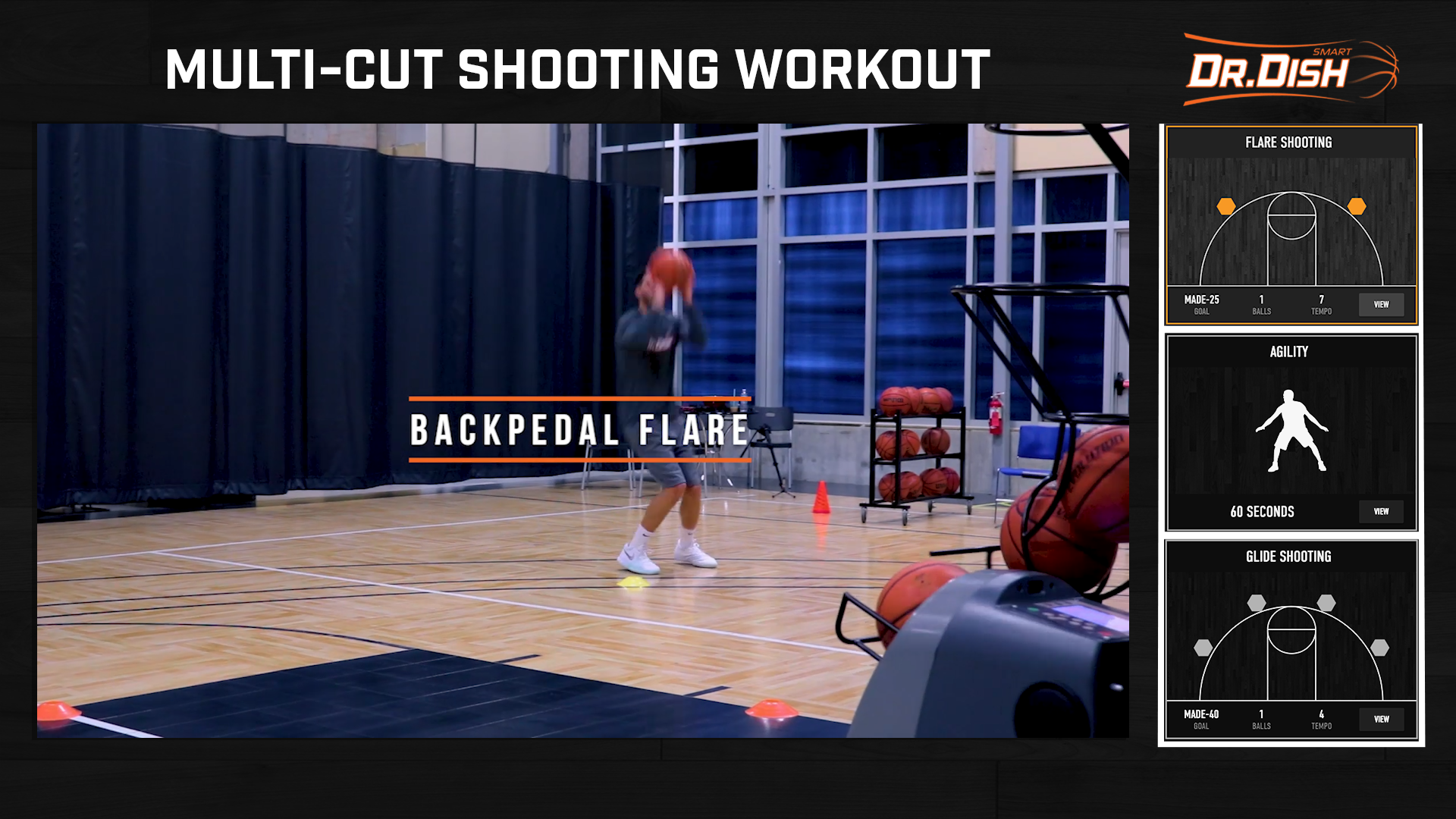 Basketball Drills: Multi-Cut Skill Builder Workout