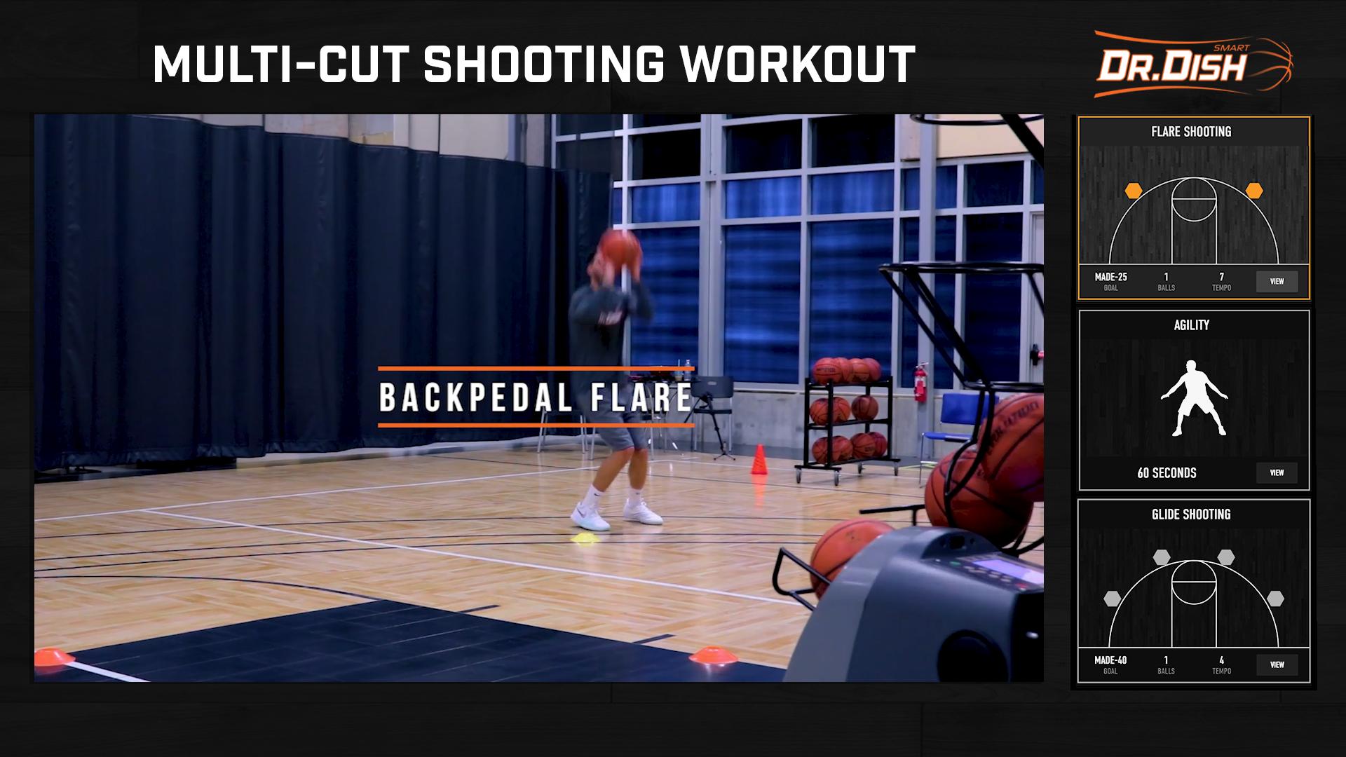 Basketball Drills: Multi-Cut Skill Builder Workout