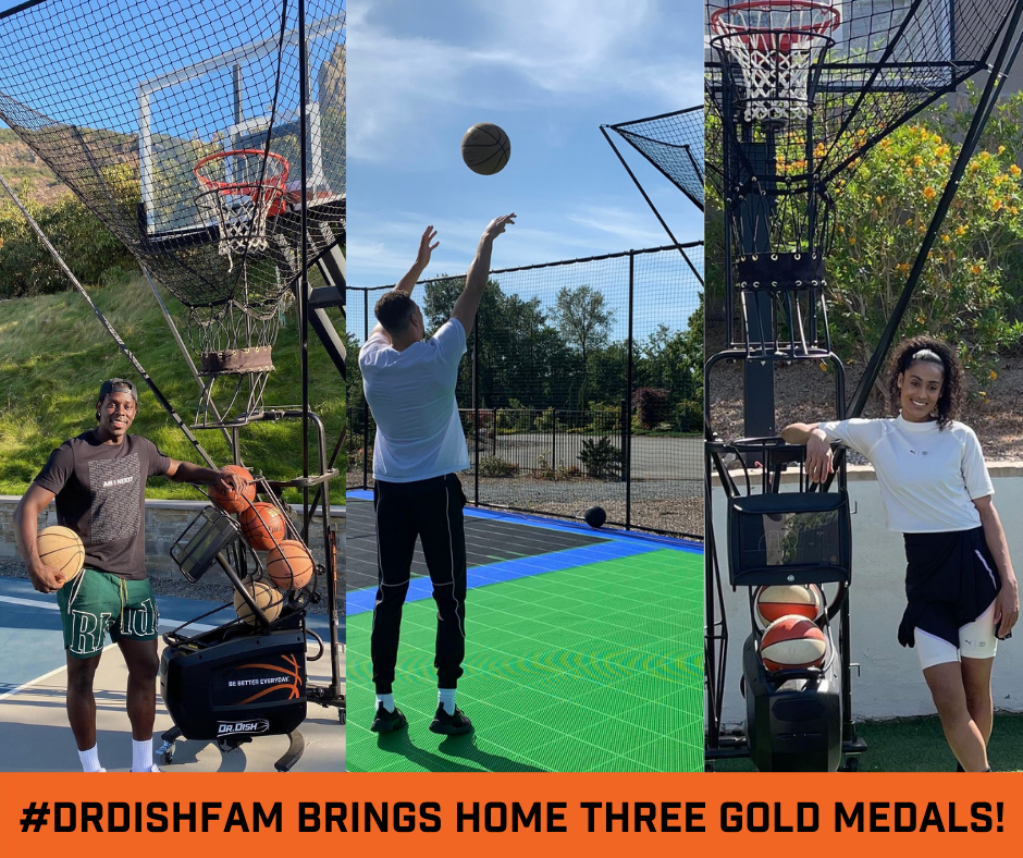Dr. Dish Family Brings Home Three Olympic Gold Medals